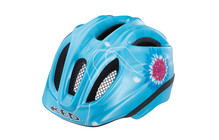 KED Meggy Helm lightblue flower